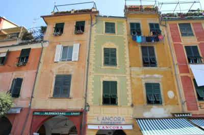 Buildings at Portifino