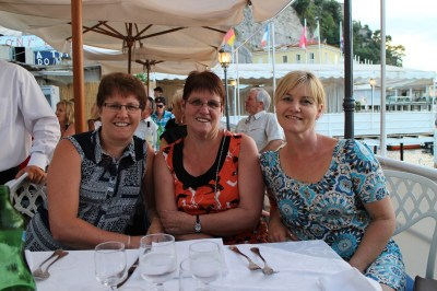 Me, Judy and Teresa in Sorrento