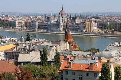 Another view of Pest from Buda