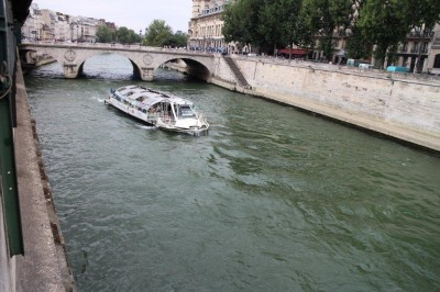 Boats on the Sienne