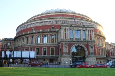 And here it is! The Prince Albert Hall