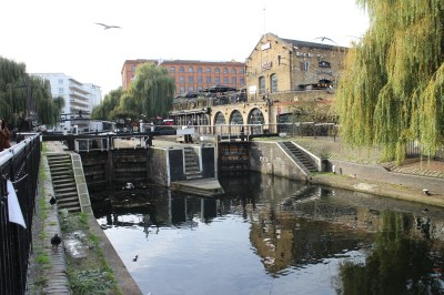 The Camden Lock.