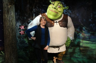 Me and Shrek!