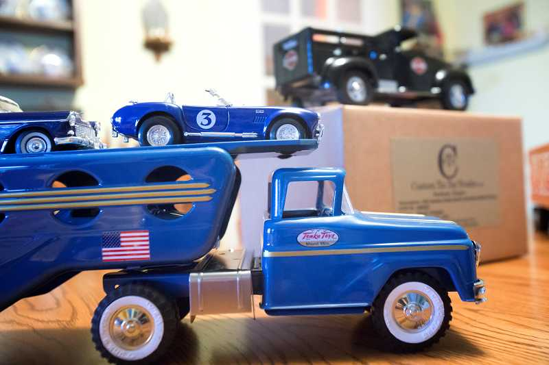 by: JONATHAN HOUSE - John Venheim refurbishes vintage pressed-steel toy trucks that he then sells through his Custom Tin Toy Trucks business.