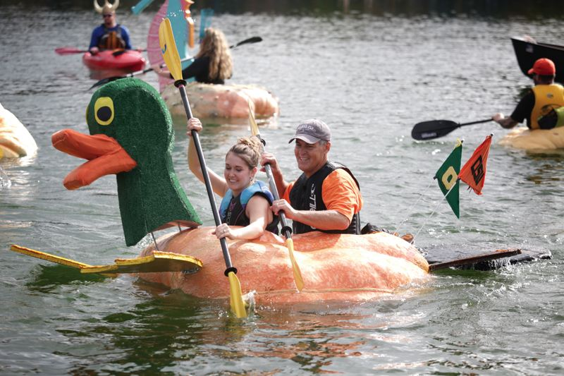Image result for giant pumpkin regatta