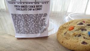 Fresh baked?! NOOOOO! Too many unidentifiable ingredients