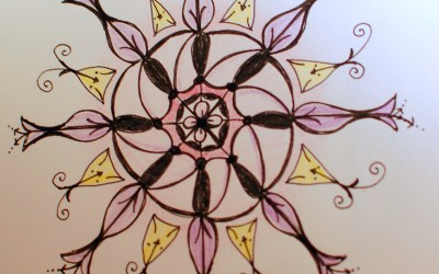 Zendoodling – Zentangle – Mandalas