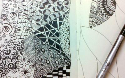 Doodling in my Moleskine