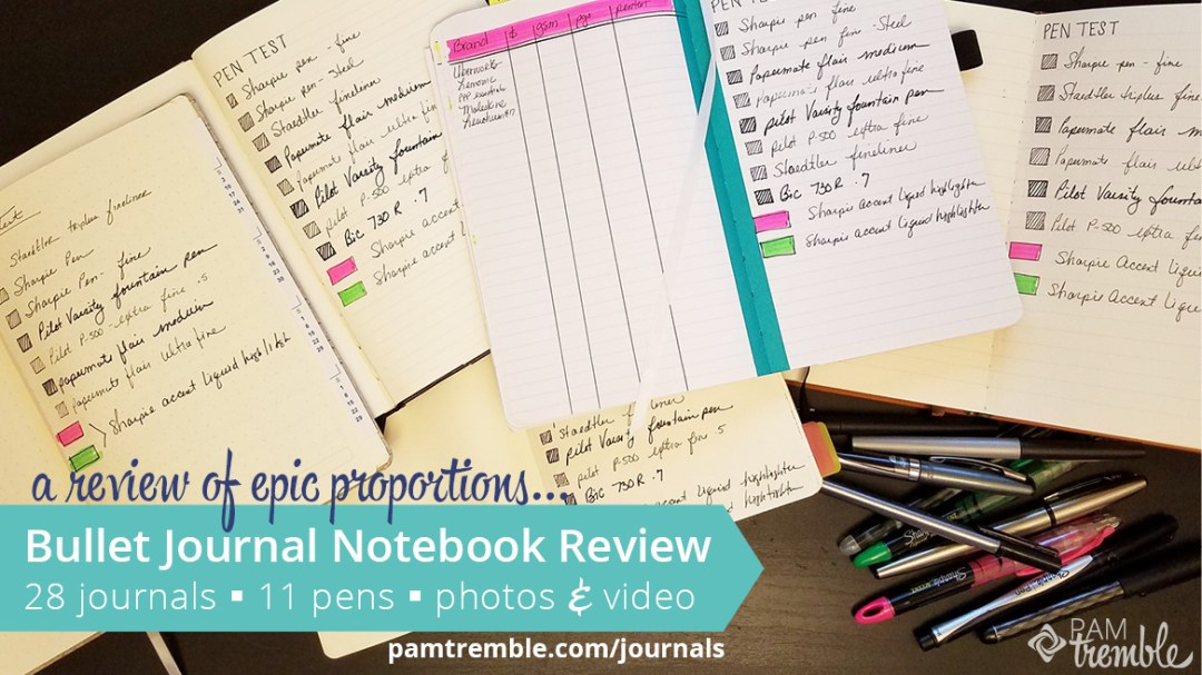 Mega A5 Bullet Journal Notebook Review