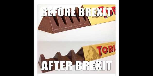 Brexit conspiracy theory, they thought it was all over. It is now.