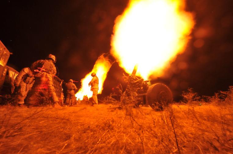 war in Libya with am. marines