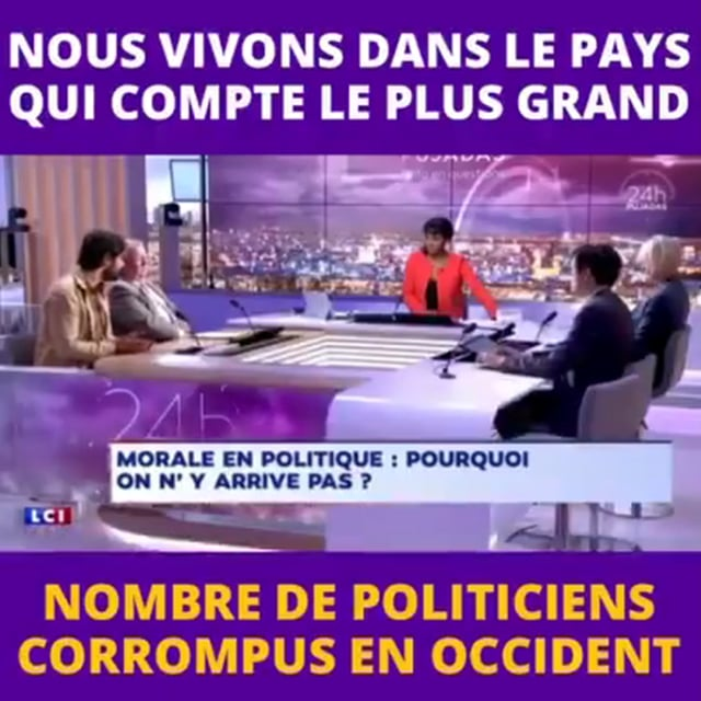 PCN-TV/ FRANCE : LE PAYS OCCIDENTAL EN TETE DE LA CORRUPTION DES ...