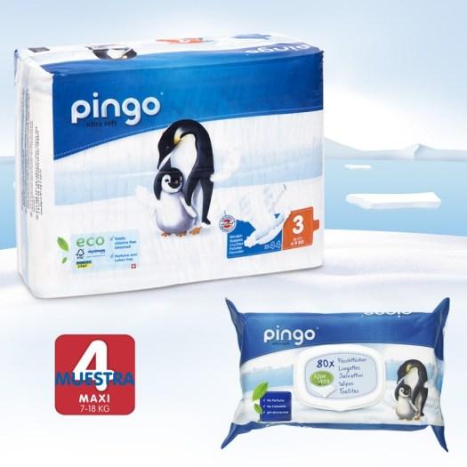 pack descubrimiento de pañales Pingo talla 3
