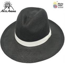 Hut in schwarz