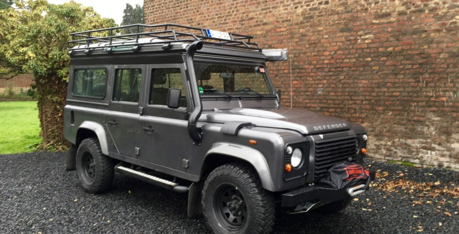 Unser Reisemobil: Landrover Defender 110, Baujahr 2014