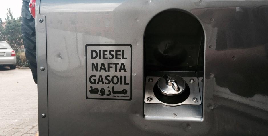Dieselpartikelfilter in Südamerika