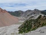 Der Vulkankrater - Caldera - am Chaitén