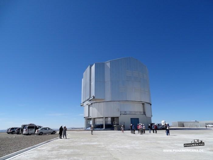 Teleskop auf dem Paranal