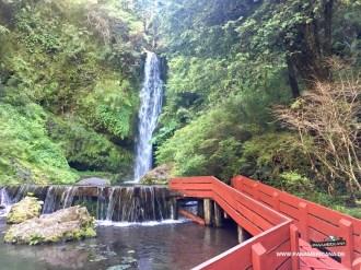 Der Wasserfall hat nur 5 Grad
