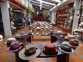 Der Panama-Hut wird in Ecuador hergestellt