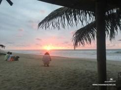 Sonnenuntergang an der Pazifikküste