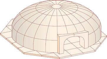 Wood-fired ovens - Larger Models