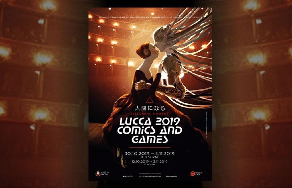 Lucca Comics 2019: E-Sports, nella foto una locandina