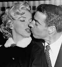 Joe di Maggio miglior giocatore di baseball con Marilyn Monroe