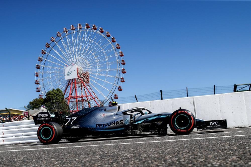 gara di f1 2019 a Suzuka, Giappone