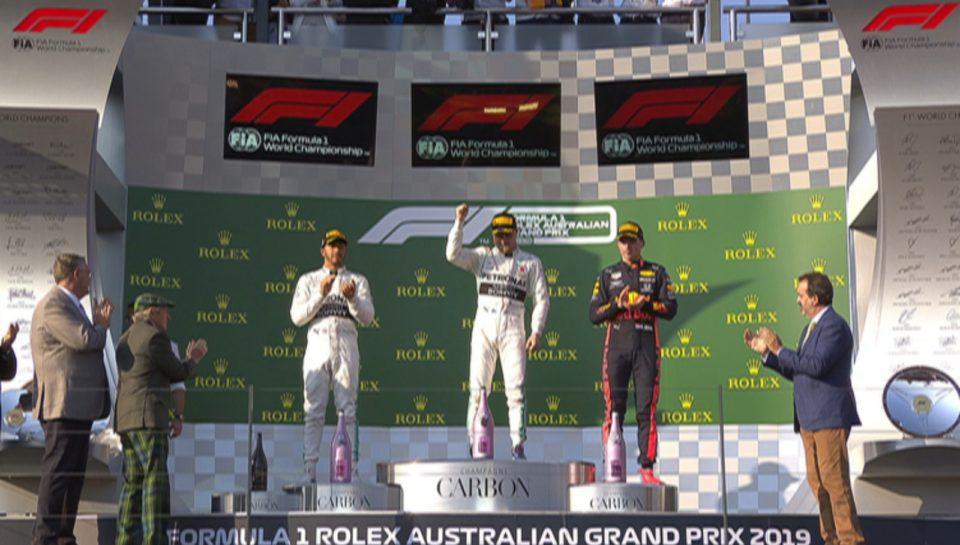 gara di f1 2019 in Australia