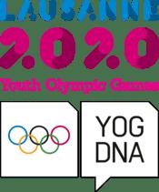Il Panathlon agli Young Olympic Games invernali, nella foto il logo dei giochi giovanili.