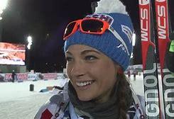 Dorothe Wierer vincitrice del biathlon