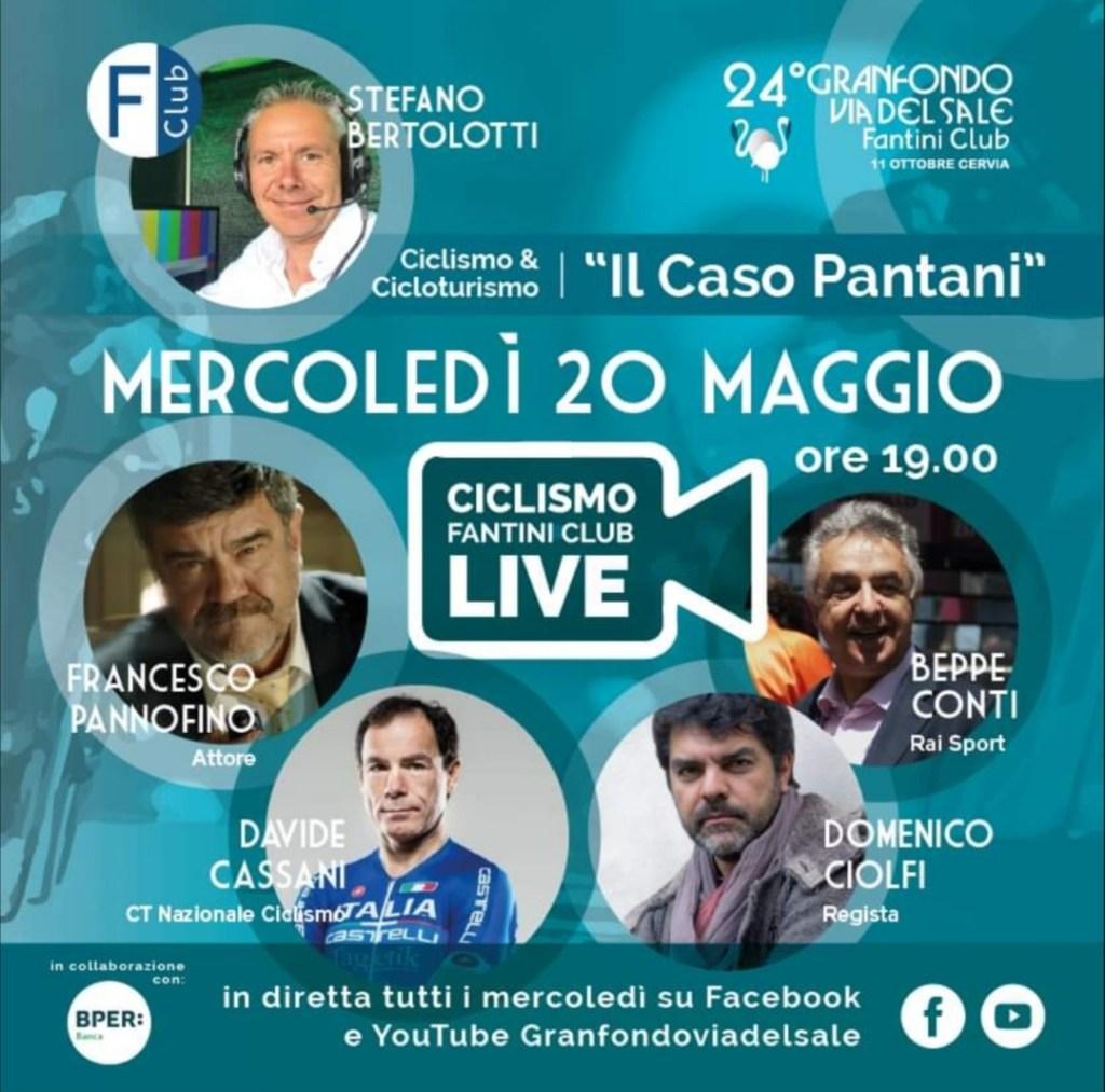 """BPER Banca presenta """"Il caso Pantani"""": live social con sportivi e amici"""