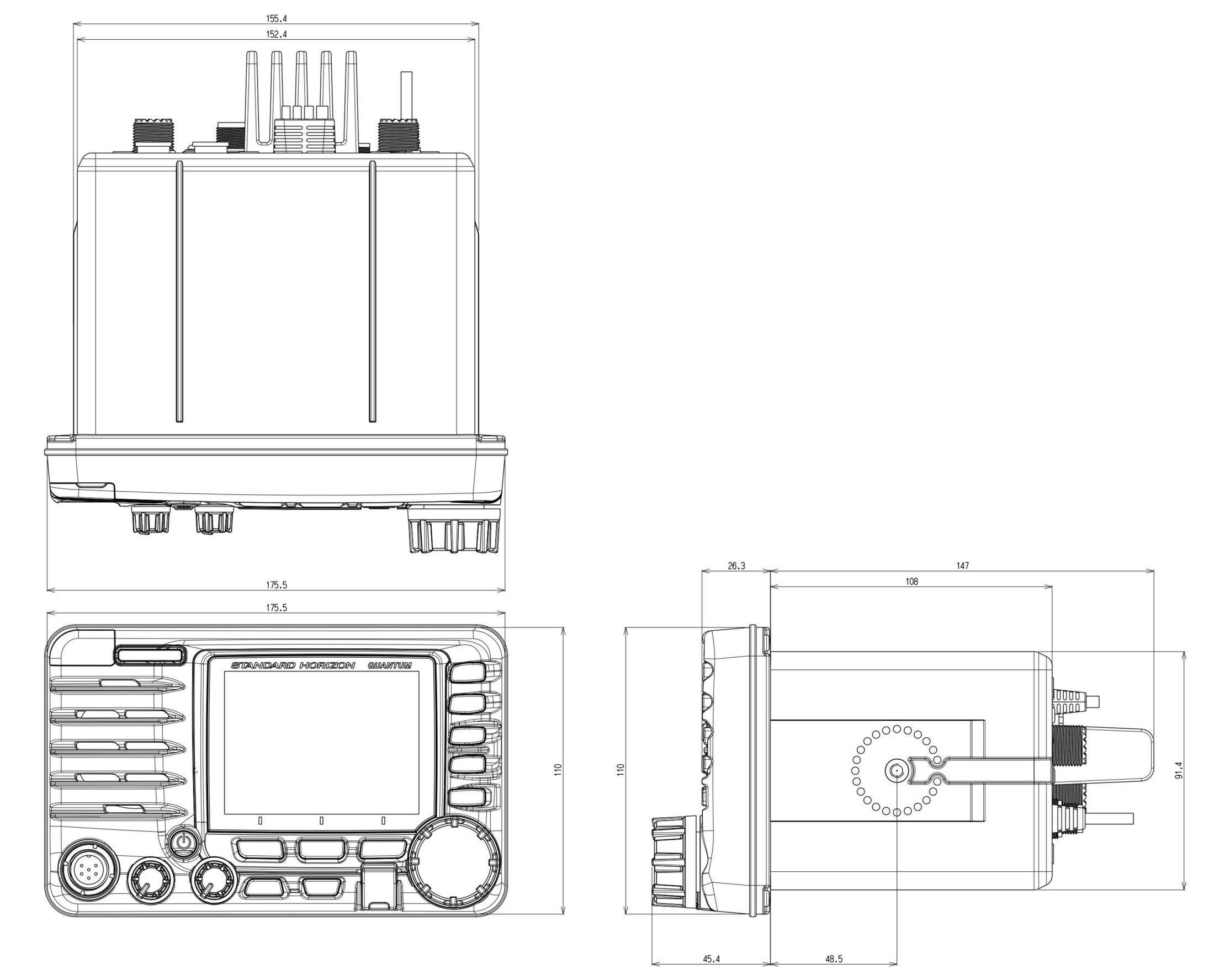 Panbo The Marine Electronics Hub Standard Horizon Gx A Loaded Vhf Radio Also Integrated