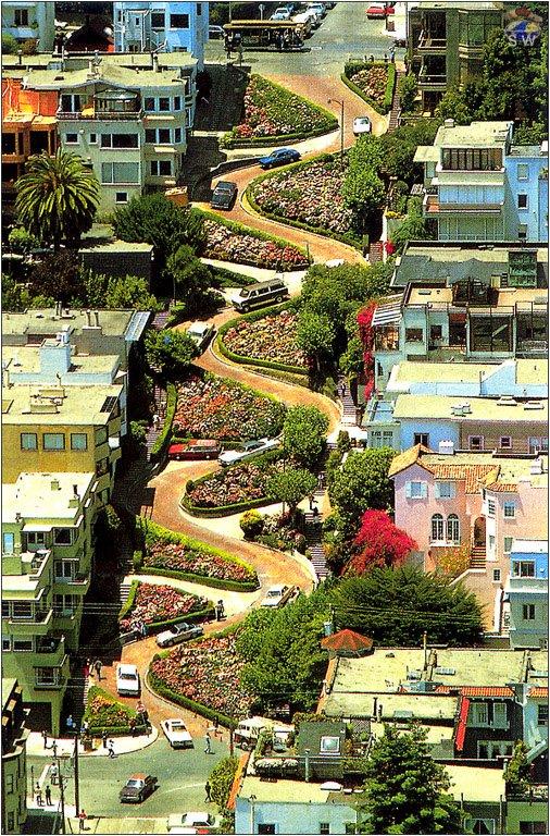 Lombard Street (San Francisco, CA)
