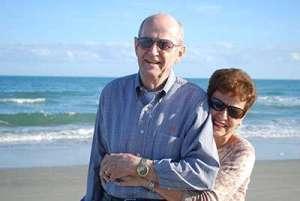 Jack and Barbara Maffett at Litchfield Beach, S.C., in October 2009.