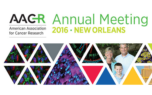American Association for Cancer Research Annual Meeting Convenes our