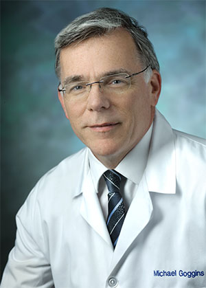 Michael Goggins, MD, professor of pathology at the Johns Hopkins University School of Medicine