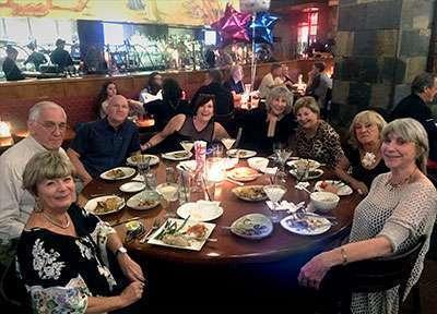 Carolynn celebrates her 75th birthday