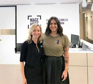 Julie Fleshman and Erin Willet