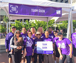 Team Quon at PurpleStride San Francisco 2016