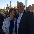 Josephine Scivoli, pancreatic cancer survivor with his husband John Scivoli