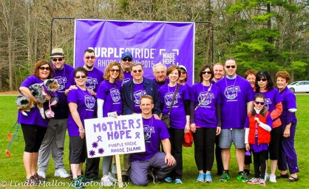 PurpleStride walks are among the largest sources of funding for the Pancreatic Cancer Action Network.