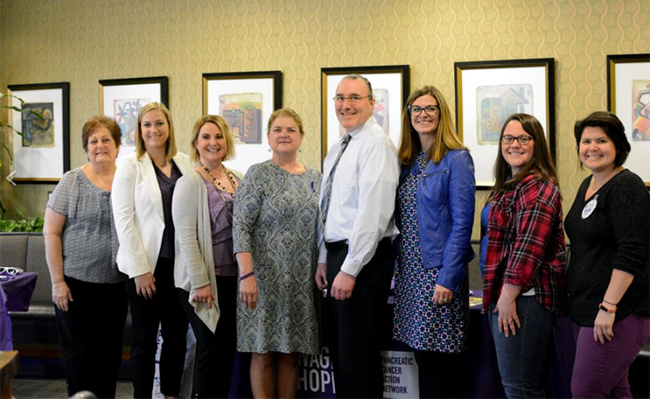 Kansas City Company Creates First-in-the-Nation PurpleStride Flagship Team