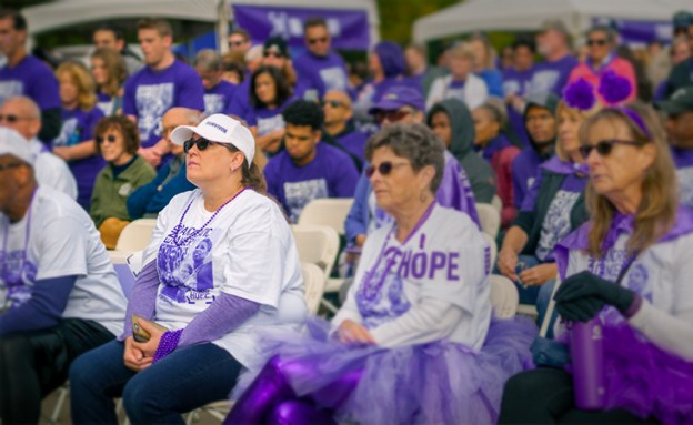 17-year pancreatic cancer survivor at PurpleStride 5K walk