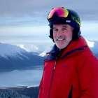 14-year pancreatic cancer survivor on skis