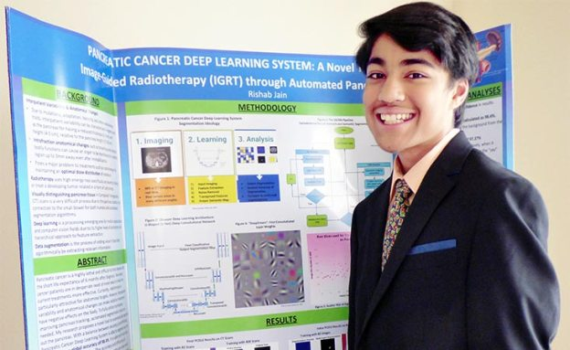Teen's science project aims to improve cancer treatment success with artificial intelligence