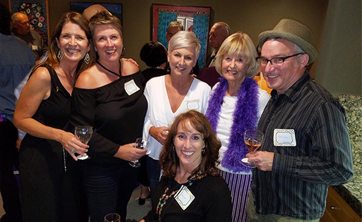 Pancreatic cancer survivor hosts wine tasting fundraiser for walk to end pancreatic cancer