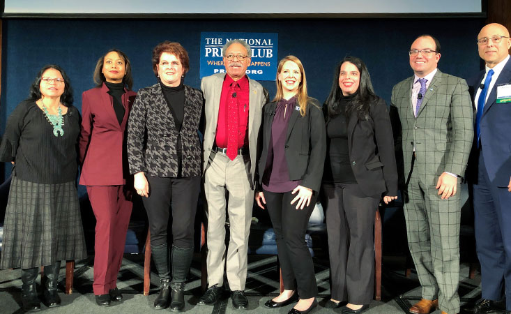 PanCAN executive joins fellow NCCN panelists for a discussion on equal care for cancer patients