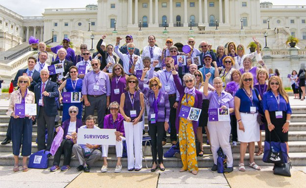 Pancreatic cancer survivors raise their voices on Capitol Hill